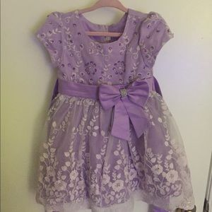 Other - Baby girl beautiful sequin purple dress
